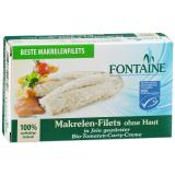Makrelen-Filets ohne Haut in Bio-Tomaten-Curry-Creme 125g Fontaine